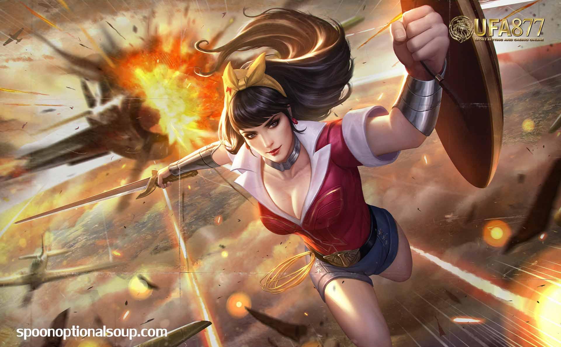 การเกิดขึ้นของ Wonder Woman
