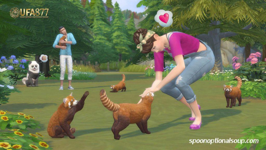 เรียนรู้เรื่องสัตว์เลี้ยงในเดอะซิม